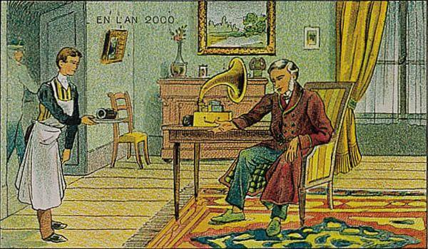 anticipation retrofutur 1910 imagination 2000 11 Lan 2000 imaginé en 1910