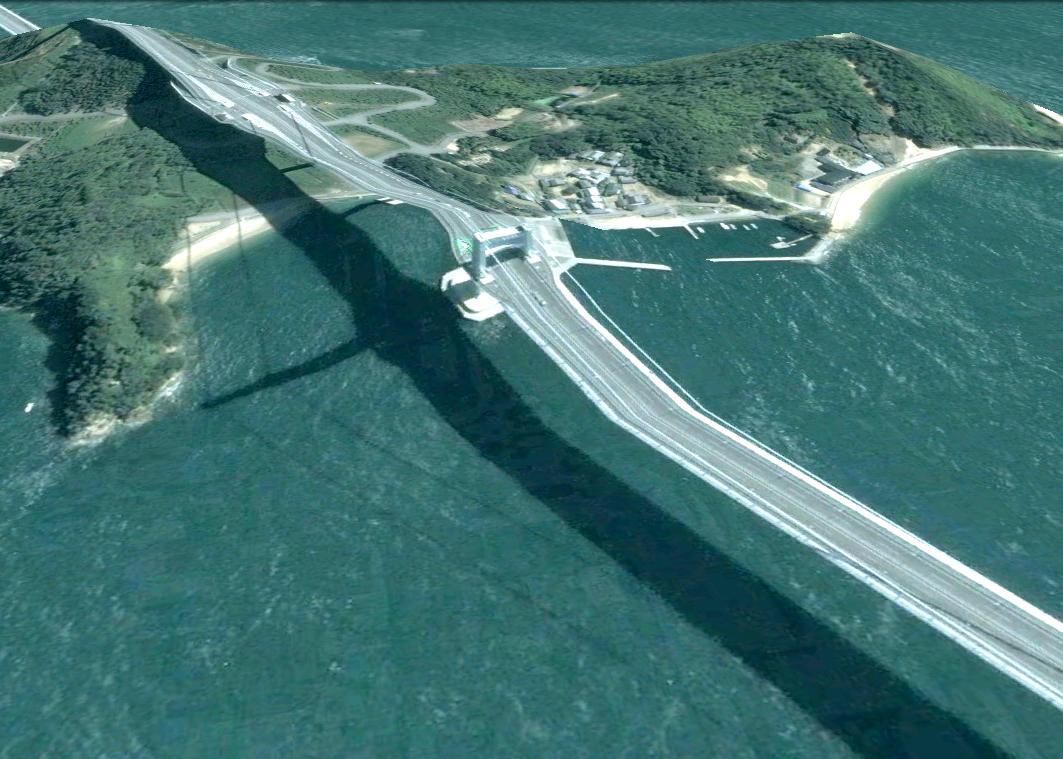 pont route google earth altitude relief 3d 06 Les ponts de Google Earth