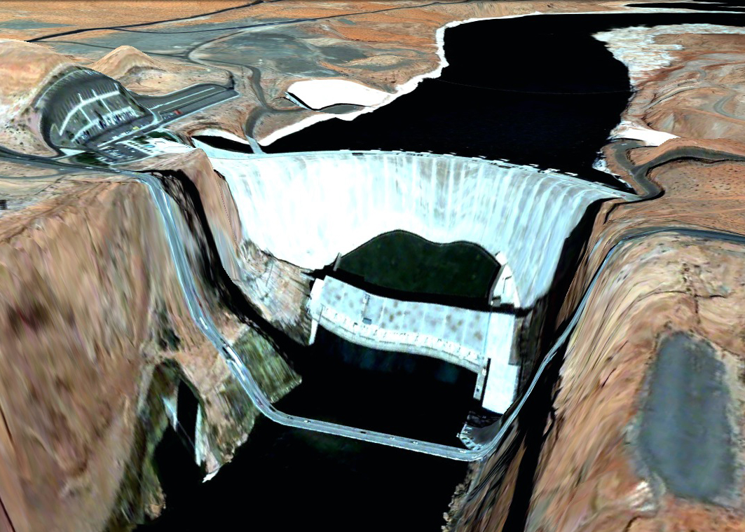 pont route google earth altitude relief 3d 09 Les ponts de Google Earth