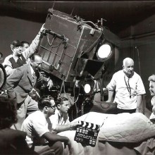 Des photos sur des tournages de films