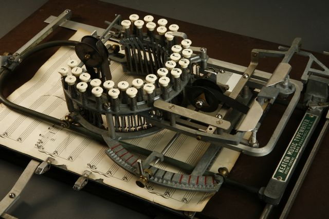 Keaton Music Typewriter Typewriter music