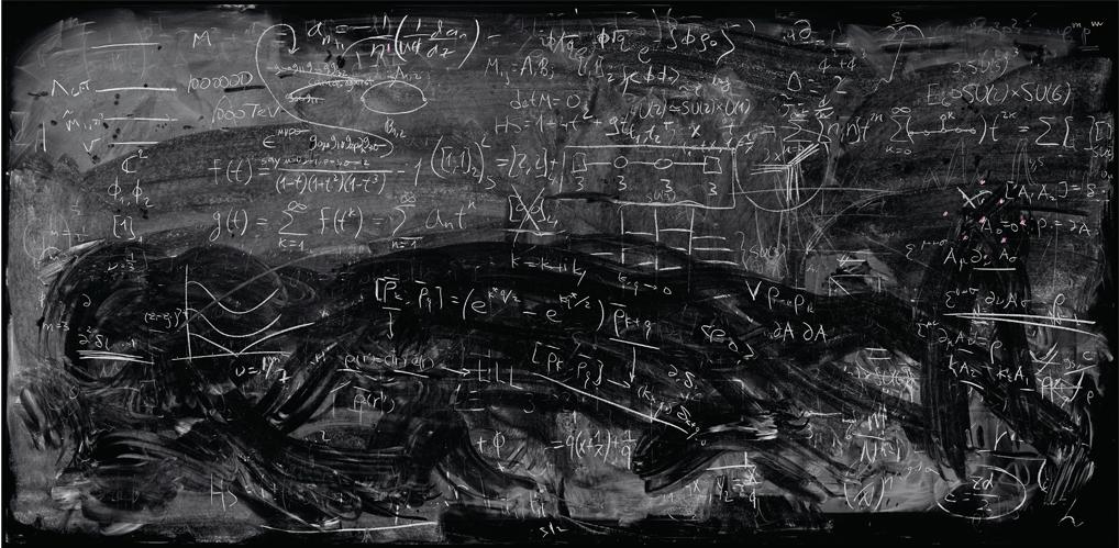 Tableau noir physique quantique - La Boite verte .fr