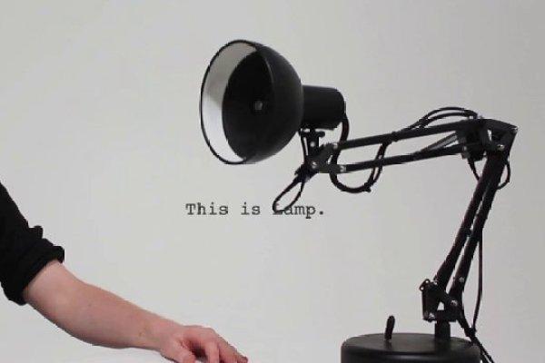 Une Lampe En Bois Tranche