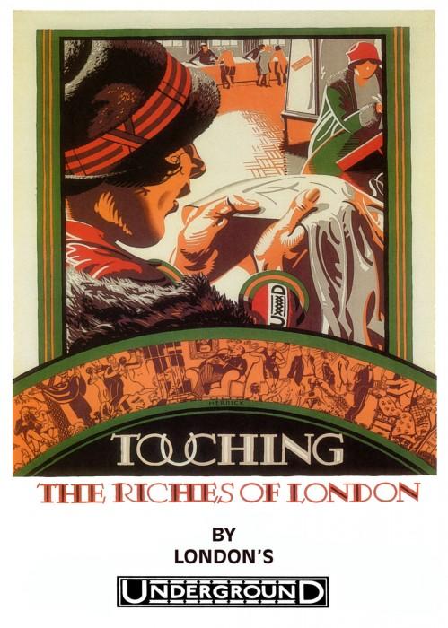 londres london metro undergroud affiche poster 05 499x700 150 ans daffiches du métro de Londres  histoire design bonus art