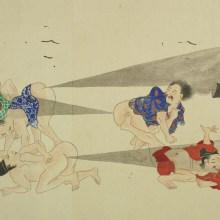 Une bataille de pets au Japon en 1600