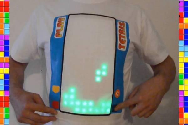 Jouer Tetris Sur Un T Shirt