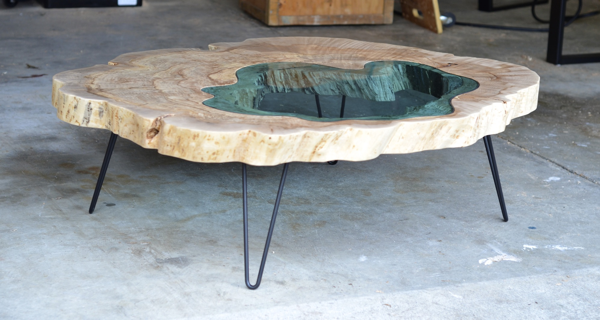 table bois verre riviere 04 la boite