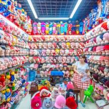 Dans un marché de gros en Chine