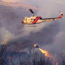 L'hélicoptère lance-flamme