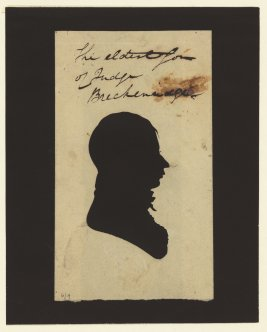 portrait-silhouette-The-eldest-son-of-Judge-Breckenridge-1816