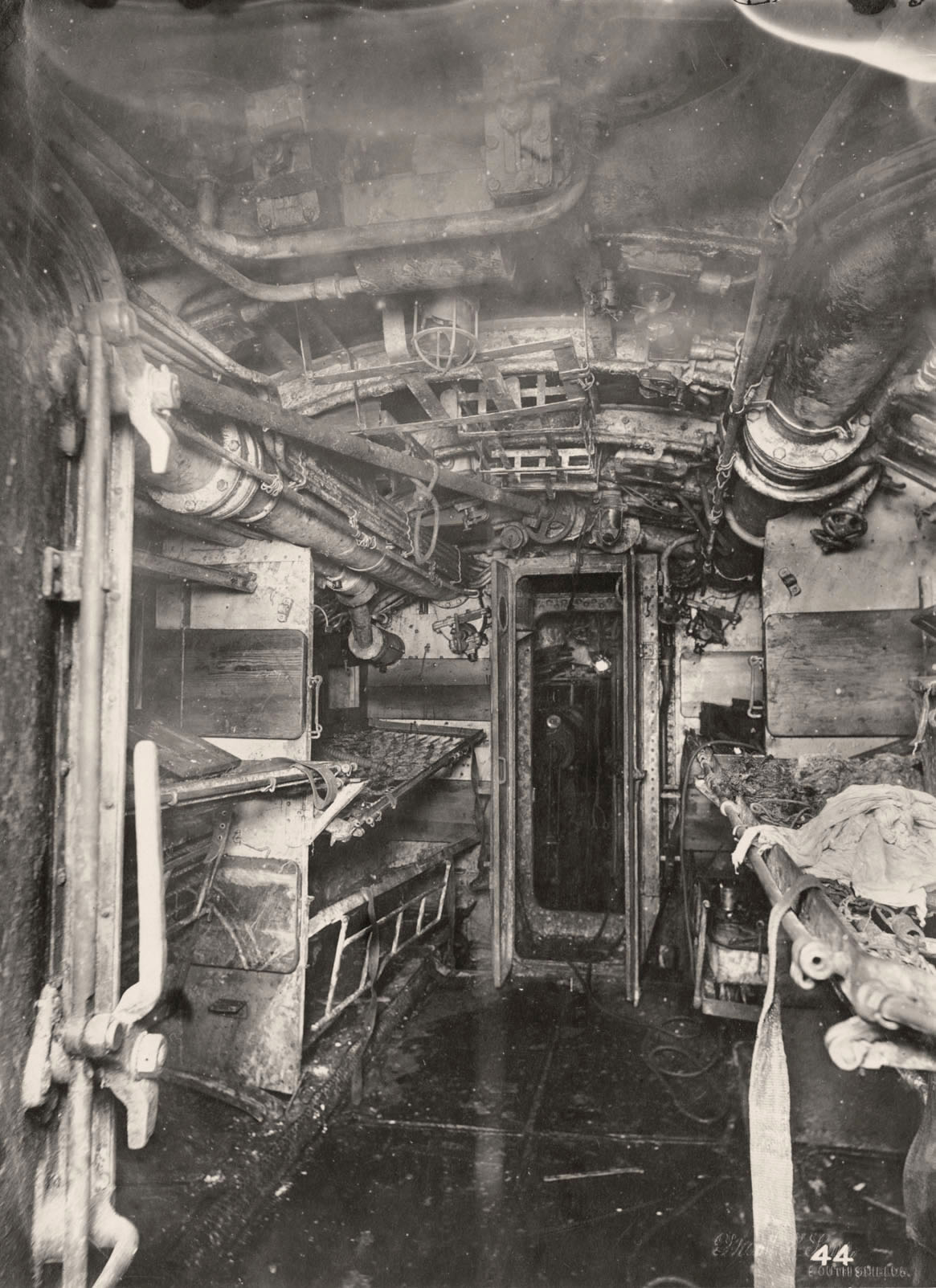 Uboat Interieur Controles Sousmarin 18