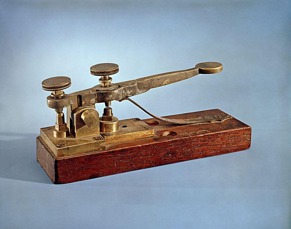 Un télégraphe de Morse