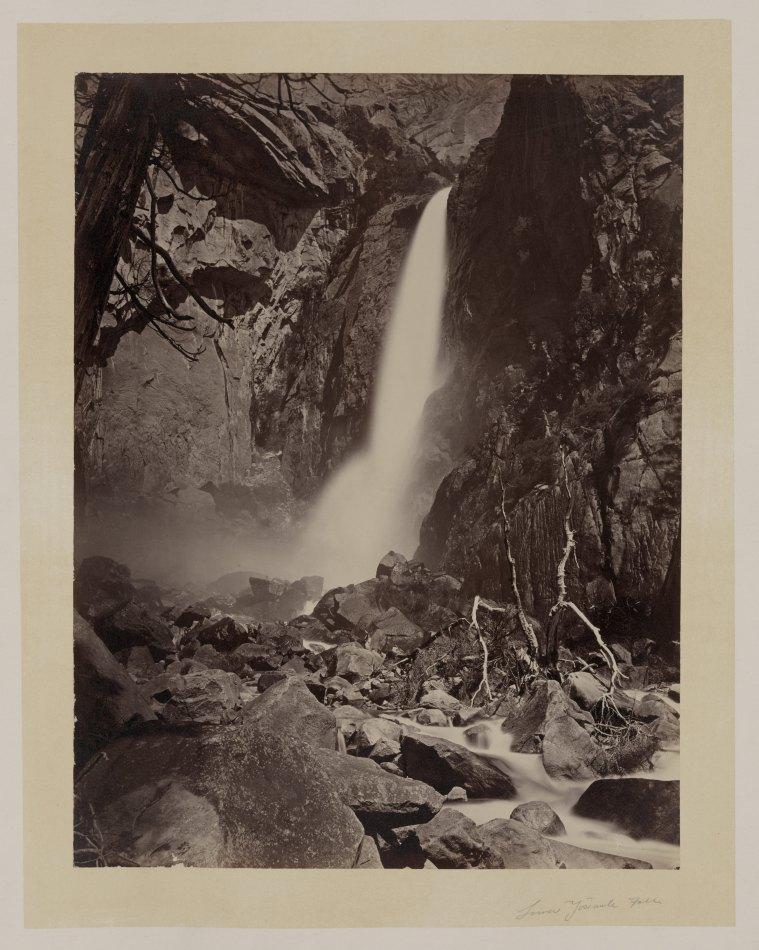 03-Carleton-Watkins-Lower-Yosemite-Falls-1860