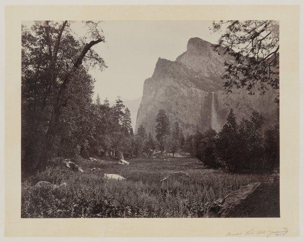 04-Carleton-Watkins-Bridal-Veil-Fall-Yosemite-Valley-Calif-1860