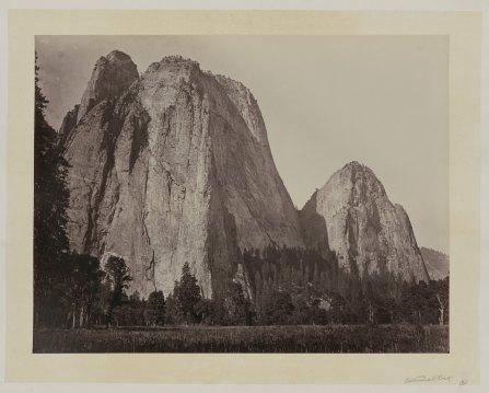 07-Carleton-Watkins-Cathedral-Rock-Yosemite-Valley-Calif-1860
