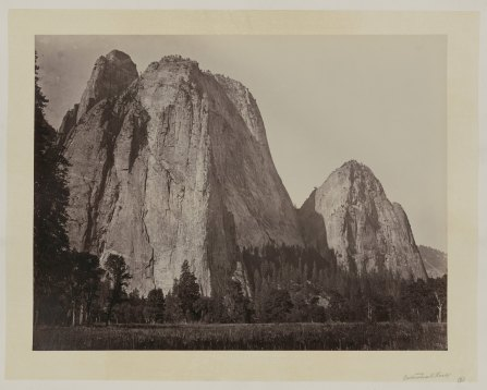 07-Carleton-Watkins-Cathedral-Rock-Yosemite-Valley-Calif-1860