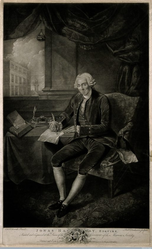 Jonas Hanway, Esquire, 1781. (Photo: Wellcome Images, London/CC BY 4.0)
