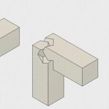 La complexité géométrique des assemblages en bois de la menuiserie japonaise
