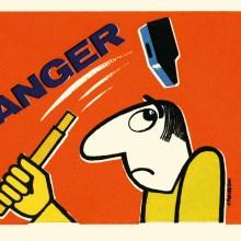 La sécurité au travail en France avec les affiches de Bernard Chadebec