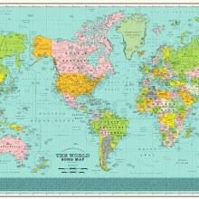Une carte du monde en chansons