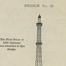 Les plans de Londres en 1890 pour rivaliser avec la Tour Eiffel