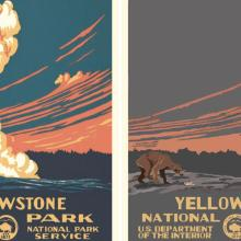 Ces affiches montrent les parcs nationaux américains dévastés en 2050
