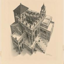 Des gravures d'Escher numérisées en haute résolution