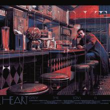 Des affiches de films alternatives et l'animation de leurs couches de couleur