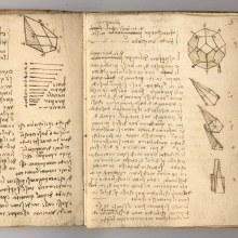 Des carnets de Léonard de Vinci numérisés en haute résolution