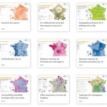 La Cartothèque, une ressource gouvernementale de 1600 infographies sur la France