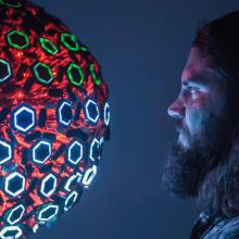 Morph : Une sculpture kinétique expressive et tactile