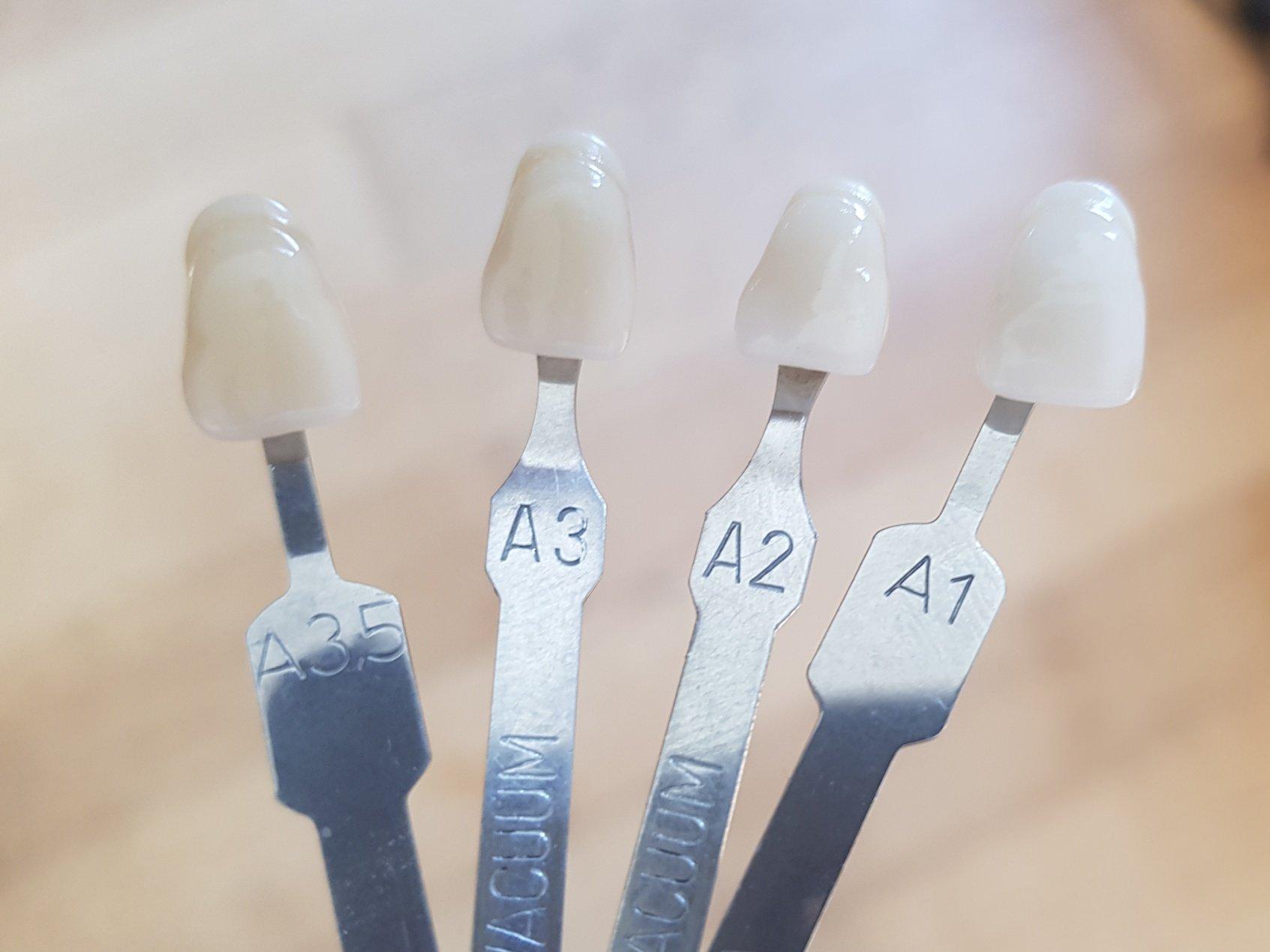 A3 zahnfarbe Zahnfarben