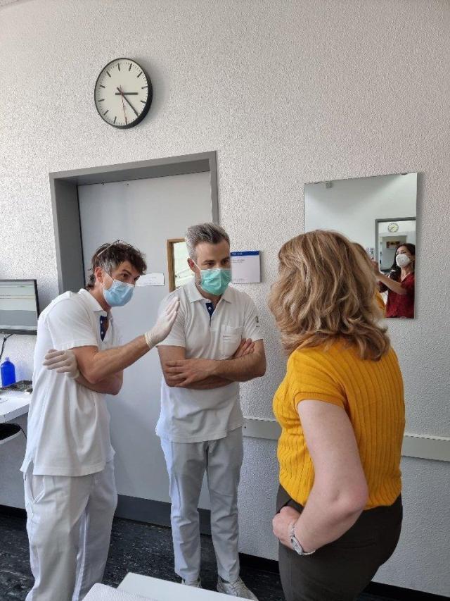 Stimmen die Achsen? Alles wird genau überprüft am Studentenkurs am Zentrum für Zahnmedizin der Universität Zürich ZZM