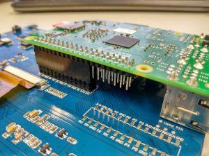 Conexión Rpi con pantalla GPIOS