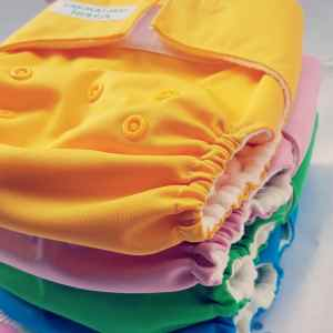 Set di 3 pannolini lavabili pocket