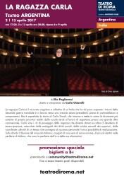 Elio Pagliarani a teatro – Roma, 2-13 aprile