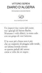 Diario d'Algeria – Vittorio Sereni