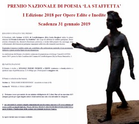 Premio Nazionale di Poesia La Staffetta