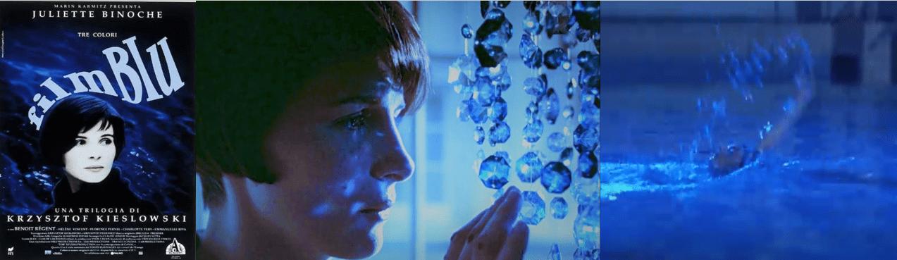 Film blu - Krzysztof Kieslowskiai