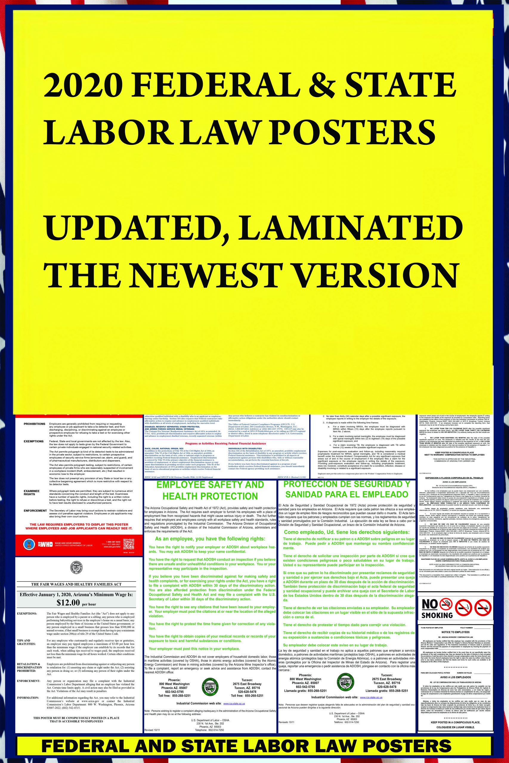 2021 colorado state and federal labor law poster co