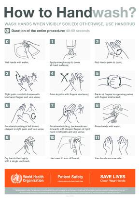 free cdc coronavirus health hygiene