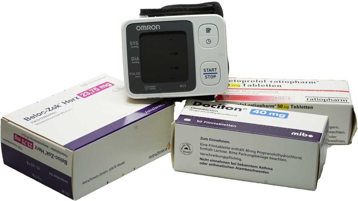 ᐅ Blutdruck Medikamente 2020: Betablocker richtig einsetzen?