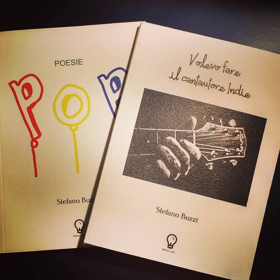 """Poesie Pop"""" e """"Volevo fare il cantautore Indie"""" Book Cover"""