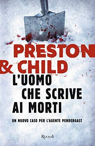 L'UOMO CHE SCRIVE AI MORTI Book Cover