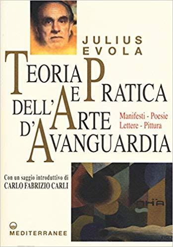 TEORIA E PRATICA DELL'ARTE D'AVANGUARDIA Book Cover