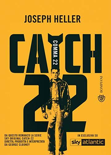 COMMA 22. CATCH 22 Book Cover