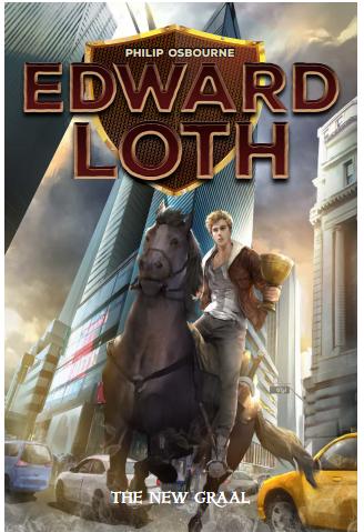 Edward Loth Najima la città fantastica Book Cover