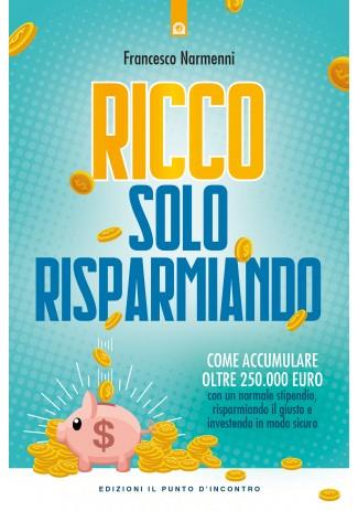 RICCO SOLO RISPARMIANDO Book Cover