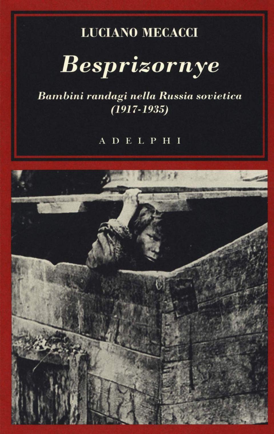 BESPRIZORNYE. Bambini randagi nella Russia Sovietica (1917-1935) Book Cover