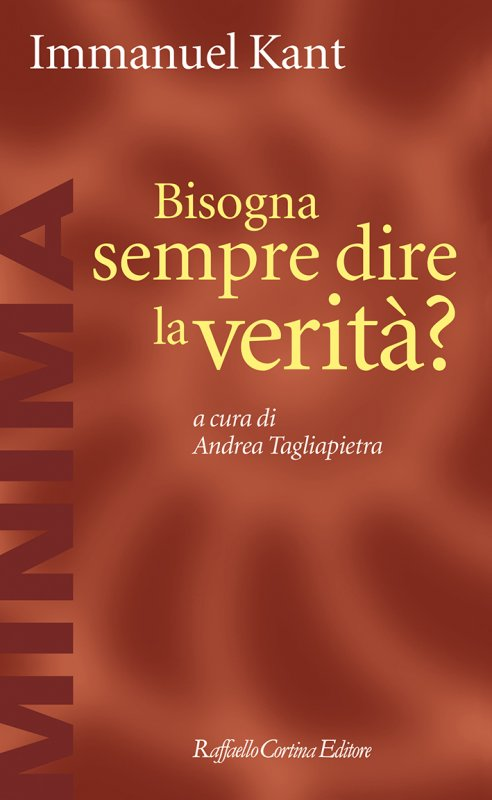 BISOGNA SEMPRE DIRE LA VERITA' Book Cover